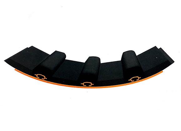 磷复肥化工行业橡胶衬板